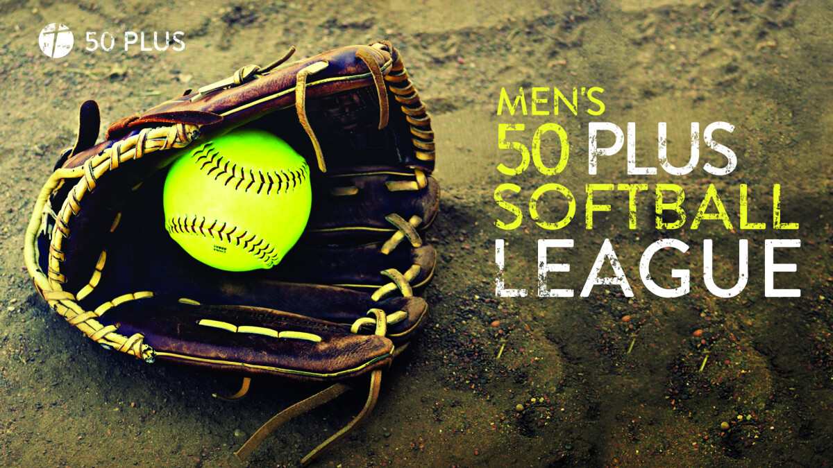 50 Plus Men's Softball League