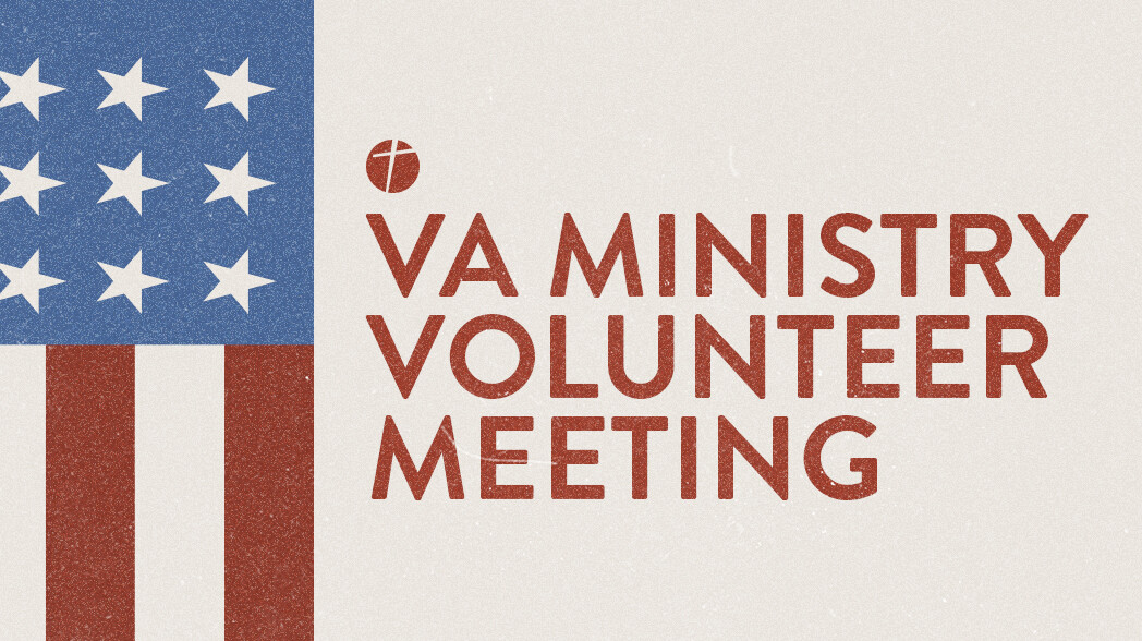 VA Ministry Volunteer Meeting