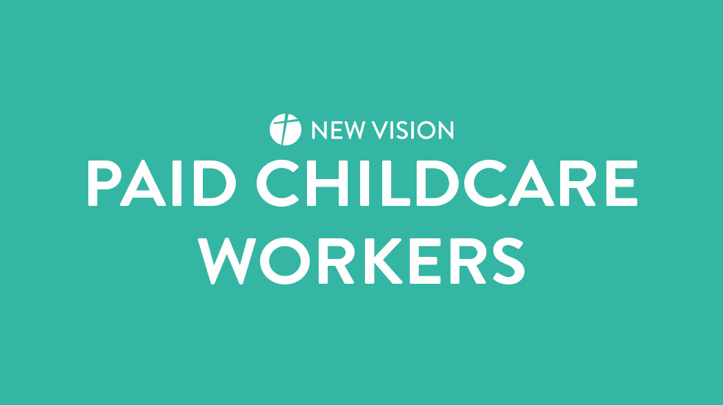 Churchwide Paid Childcare Workers