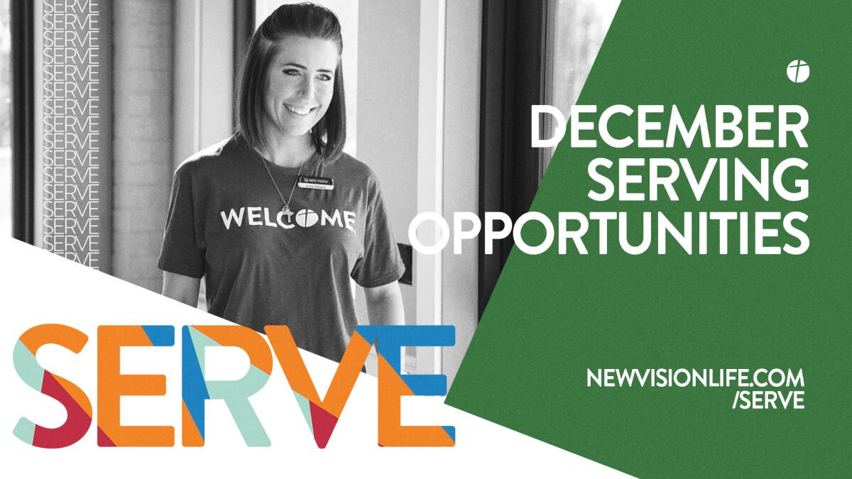 December Serving Opportunities: Buchanan