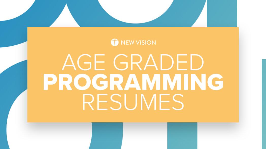 CHURCHWIDE Age Graded Programming