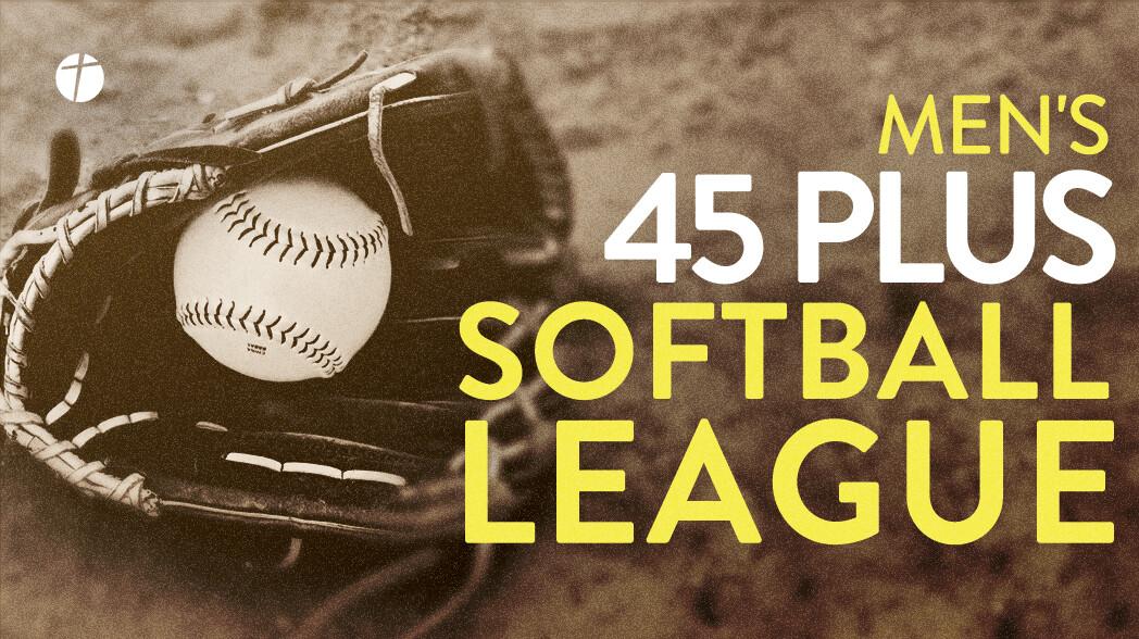 Men's 45 Plus Softball League