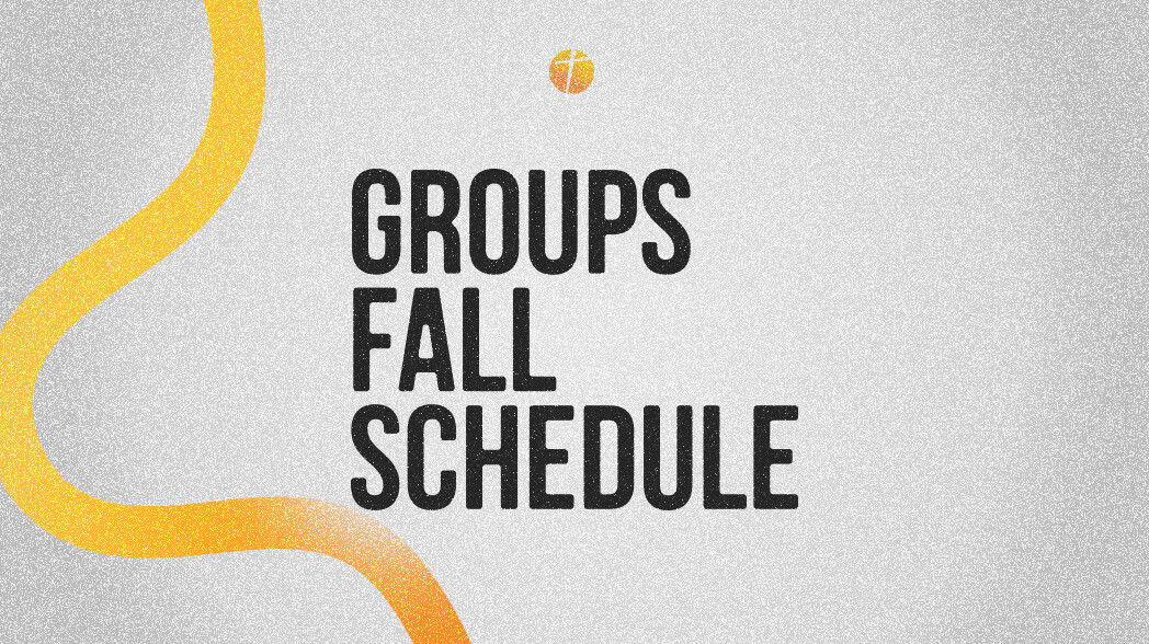 Fall 2021 Groups & Wednesday Night Schedule